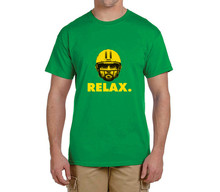 Hot AARON RODGERS relax 100% cotton t shirts Mens gift T-shirts for packers fans 0214-15