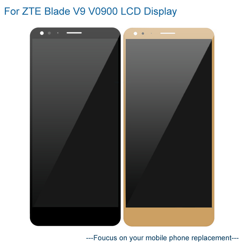 LCD Display For ZTE Blade V9 V0900 Touch Screen Digitizer Assembly Replacement Mobile Phone LCD Screen For ZTE Blade V9 V0900LCD Display For ZTE Blade V9 V0900 Touch Screen Digitizer Assembly Replacement Mobile Phone LCD Screen For ZTE Blade V9 V0900