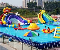 Hot Inflatable Water Toys Amusement Park , The Biggest Inflatable Water Park