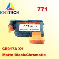 1x compatibel voor hp771 CE017A DESIGNJET 771 Z6200 Printkop Matte Black Chromatische