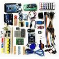 Starter Kit para arduino Uno R3/2560 mega/Servo/1602 LCD/jumper/HC-04/SR501 com Caixa Da caixa