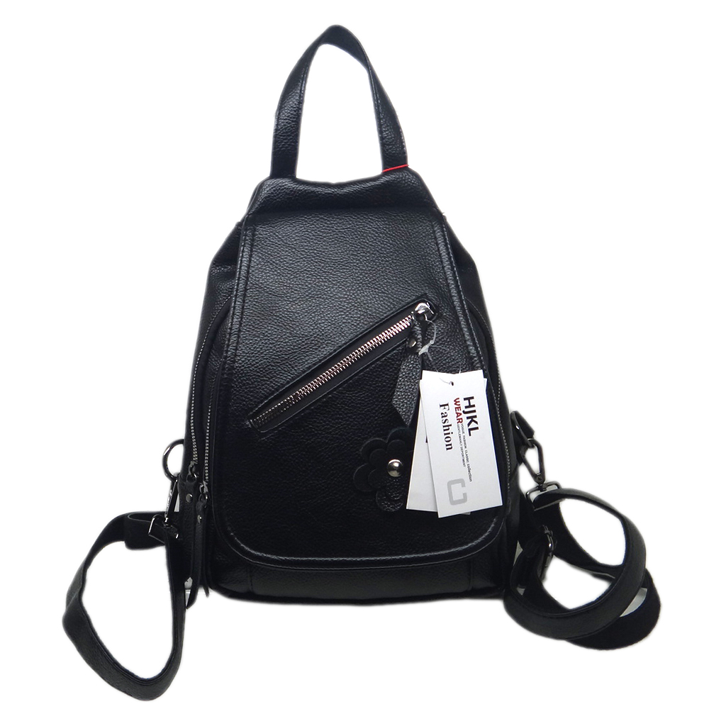 2019 Leder Schwarz Verschiffen Pu Rucksack Tasche Farbe Heißer Zipper Freies Frauen Verkauf Mode r6qXpwtr