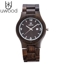 2018 Top Brand Wooden Watch Men Women Fashion Dress Watch Bu