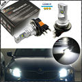 2pcs Xenon White Powered By Philips Luxeon LED H15 LED Light Bulbs ForAudi BMW Mercedes Volkswagen For Daytime Running Lights