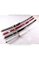 Free Shipping One Piece Roronoa Zoro Cosplay Swords for Halloween and Christmas