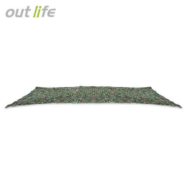 Outlife 5m Hunting Camping Military Camouflage Net Cover Sun Shelters Tent Woodland Army Car Umbrella Camo Sun Shade Cover
