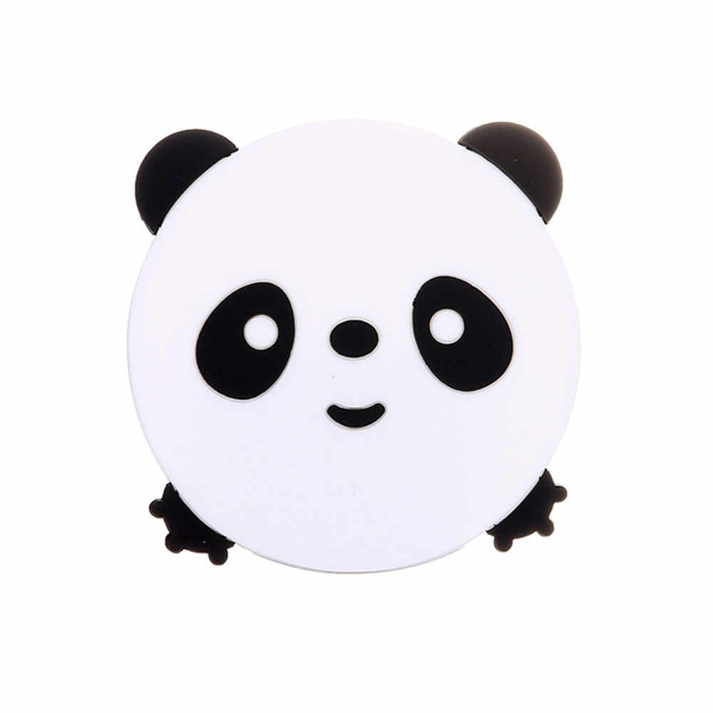 1PC Hewan Pola Silikon Cangkir Minuman Dudukan Mat Tableware Tatakan Panas Tahan Coaster Babi/Kitty/Panda/ desain Katak Dijual Y