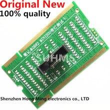 الأصلي جديد DDR2 + DDR3 الذاكرة فتحة بطاقة اختبار اللوحة المحمول الدفتري المحمول مع LED
