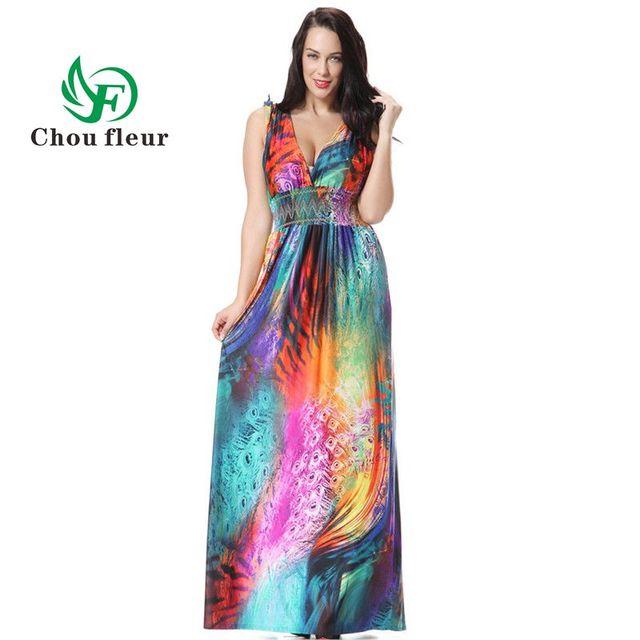 kleurrijke jurk