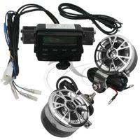 Мотоцикл звук радио Системы Руль FM MP3 стерео 2 колонки квадроцикл