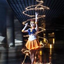 Сейлор мун сейлор венера минако айно потому борьба костюм косплей костюм хеллоуин костюм