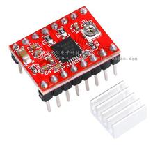 10pcs Reprap Stepper Driver pololu A4988 Stepper Motor Driver Module with Heatsink For RAMPS Arduino 3D Printer Parts Accessory(China (Mainland))