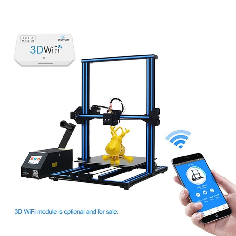Haute qualité Wifi imprimante 3D profil en aluminium écran couleur grande taille imprimante 3D ordinateur mis à niveau imprimante de carte mère
