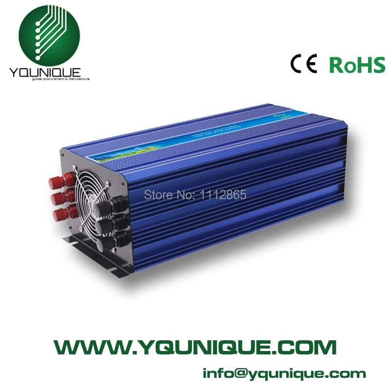 3000W Power Inverter Pure Sine Wave Inverter12/24/48V to 120/220V,Run A Fridge