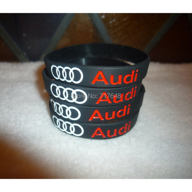Pcs GENUINE AUDI COLLECTION Wristband Silicone Bracelets Free - Audi collection