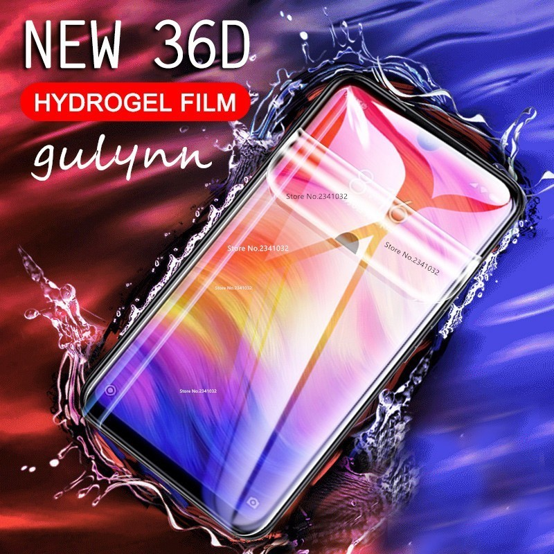 36D Strengthen Hydrogel Film On For Xiaomi Redmi Note 5 6 7 K20 Pro Cover Screen Protector For Redmi 6 7 5 Plus Protective Film