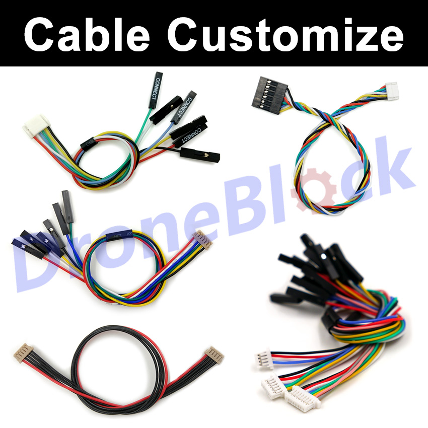 Flight Controller Wire Cable Customize Custom Made Cable Pixhawk2 APM Pixhack Navio2 Omnibus F4 F7 SPRacing F3 JST GH <font><b>DF13</b></font> 1.25 image