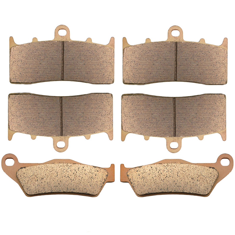 Motorcycle Front and Rear Brake Pads for BMW R1150R R 1150 R Rockster / Edition 80 2003-2005 Sintered Brake Pads motobike motorcycle front and rear brake pads for honda vt250fl spada castel 1988 1990