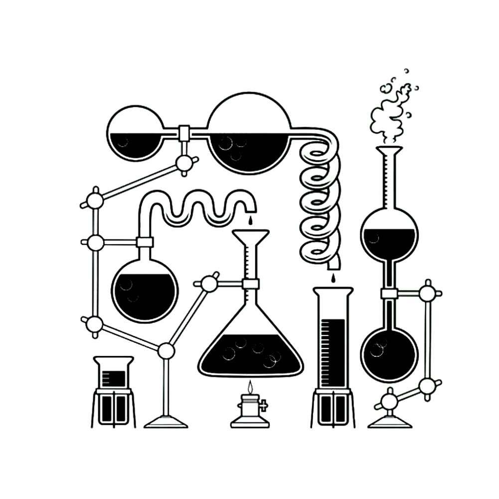 многие картинки на тему химии черно белые помощью можно привлечь