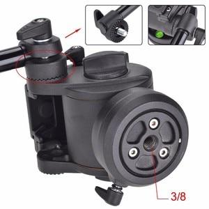 Image 5 - Carbon fiber video einbeinstativ video camcorder Flüssigkeit kopf Tragbare reise 8KG bär dslr einbeinstativ stativ