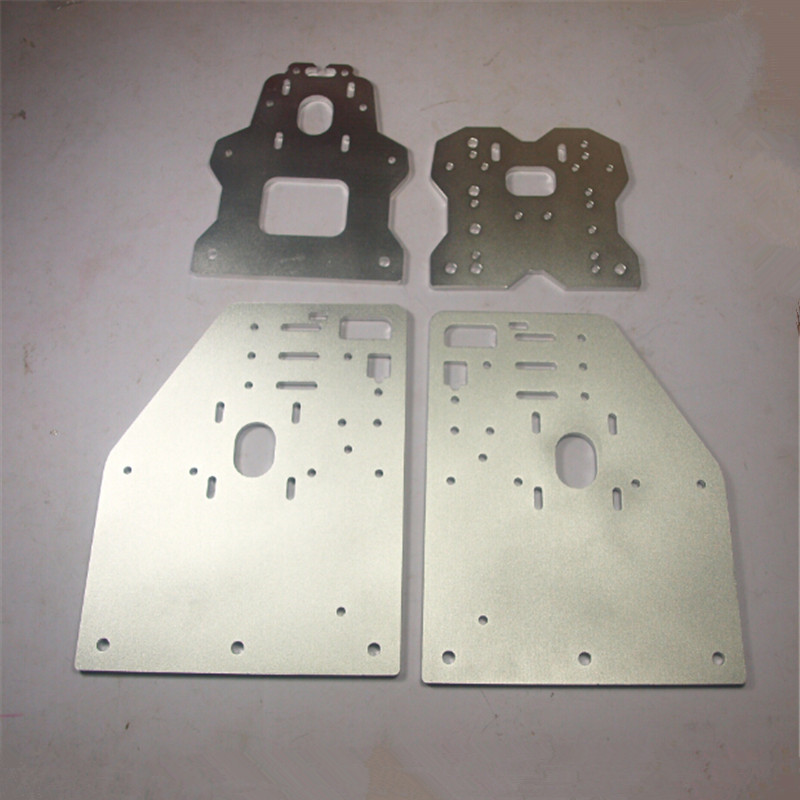 OX CNC milling machine update version OX Gantry plates kit Silver color OX CNC Aluminum 4* Gantry Plates 6mm aluminum alloy .OX CNC milling machine update version OX Gantry plates kit Silver color OX CNC Aluminum 4* Gantry Plates 6mm aluminum alloy .