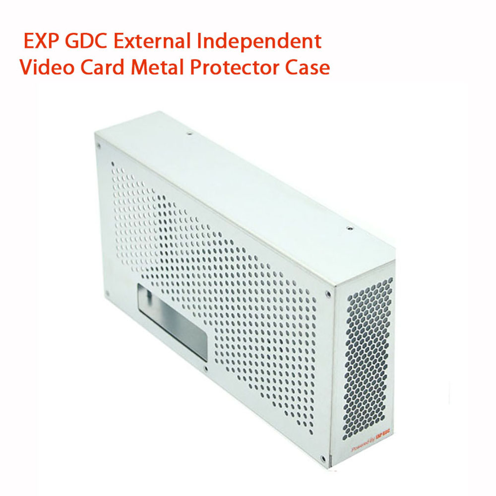 EXP GDC 外部の独立したビデオカード金属プロテクターケースボックスラップトップのための 29*14*5 センチメートル  グループ上の パソコン & オフィス からの ノートパソコンのドッキングステーション の中 1