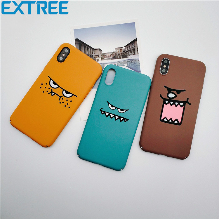 EXTREE Funny Face Case for Apple 8 Phone Case for iPhone7plus/6s/X Expression Full Package of Hard Case Couple