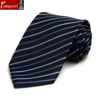 Romguest Men S Business Suits Tie Blue Striped Tie Tie Special Unit Group