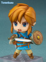 The Legend Of Zelda Link Nendoroid 733 Breath Of The Wild 100MM Collectible Model Toy Game