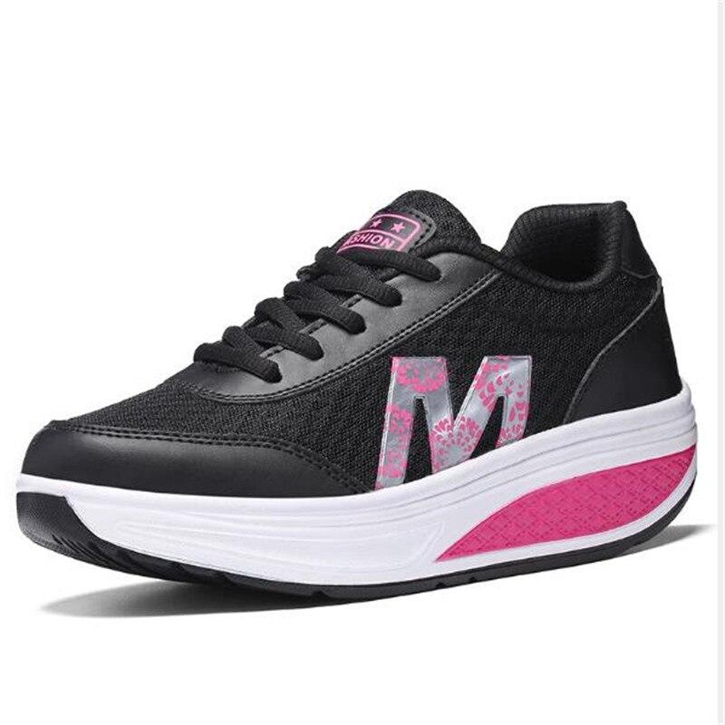 Cuñas Zapatos Nueva Planos Black 2719 Señora Tamaño Black Salud 2719 35 2719 40 Zapatillas De Plataforma blue Belleza Las Gray 2019 Zapato Ocasionales Fitness gray Red Elgeer Mujeres Deporte red Moda 7Zn0XqSw