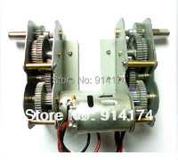 henglong 3838 3839 3878 3889 1 3908 1 3918 1 ect 1/16 RC tank parts metal drive system/metal gear box free shipping