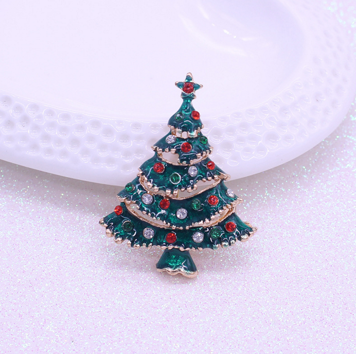 wholesale christmas tree brooch christmas tree pendant for diy jewelry 12pcslot christmas gifts xmas jewelry in brooches from jewelry accessories on - Wholesale Christmas Gifts