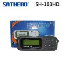 [Echte] Sathero SH 100HD DVB S DVB S2 Pocket Digitale Signaal Satelliet Finder Lcd scherm Ondersteuning Qpsk 8PSK Satelliet Meter SH100