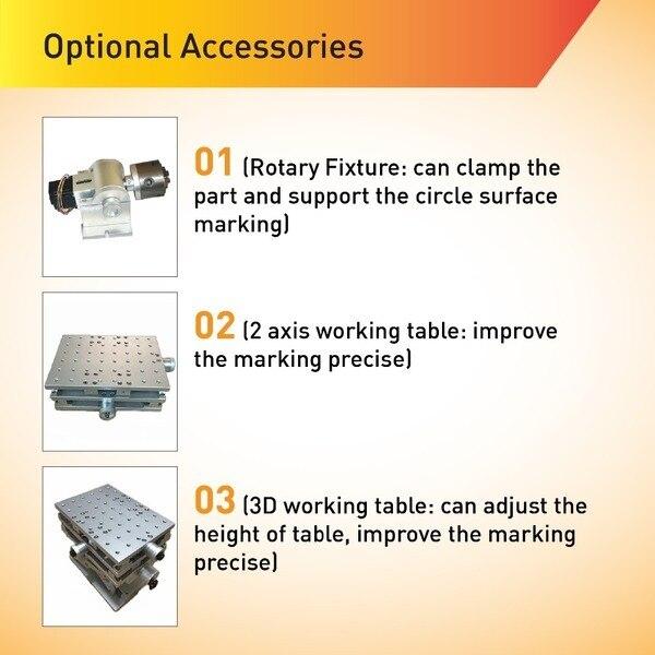 Macchina per marcatura laser da tavolo ad alta velocità da 20 W in - Attrezzature per la lavorazione del legno - Fotografia 5