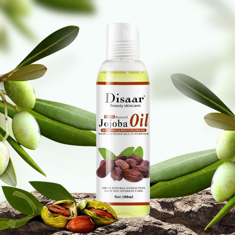 Pure Natural Jojoba Oil Skin Care Anti-Aging Lymphatic Detox Oil SPA Suitable For Body Relaxing Massage Oil