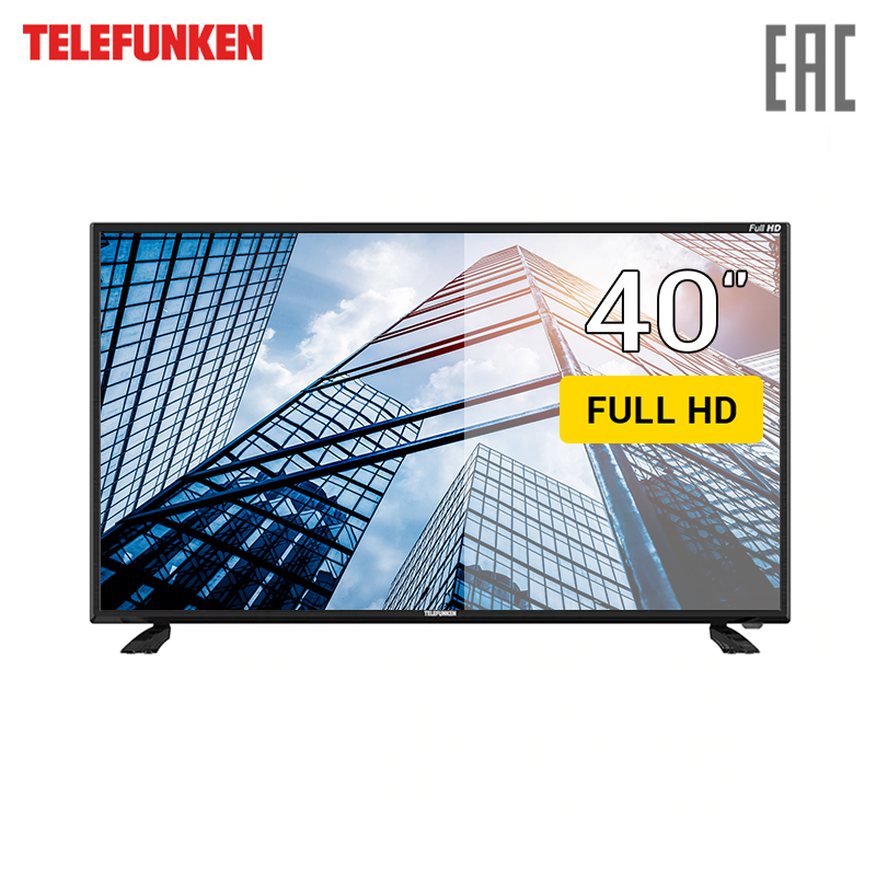 TV 40 Telefunken TF-LED40S44T2 FullHD 4049inchTV dvb dvb-t dvb-t2 digital tv 43 telefunken tf led43s81t2s fullhd smarttv 4049inchtv