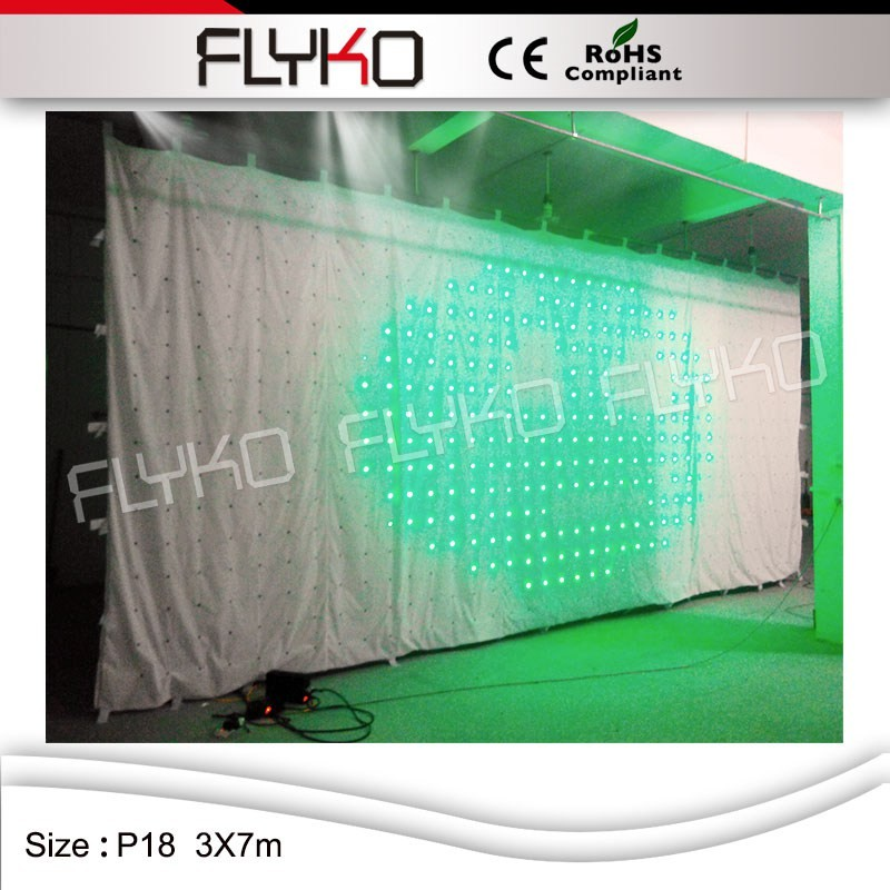 LED video curtain25