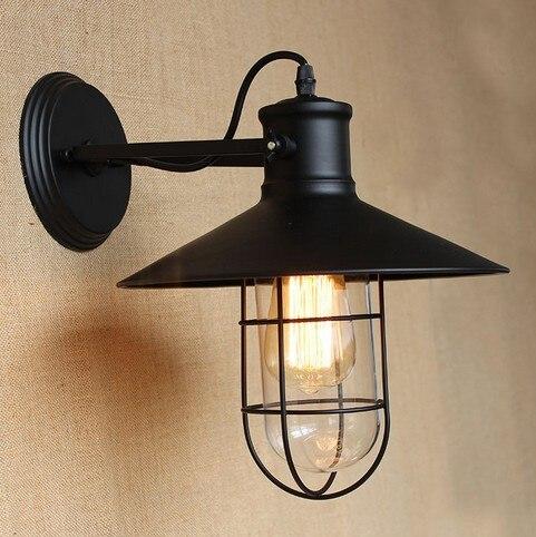 ộ_ộ ༽Edison applique murale rétro Style Loft Vintage lampe murale ...