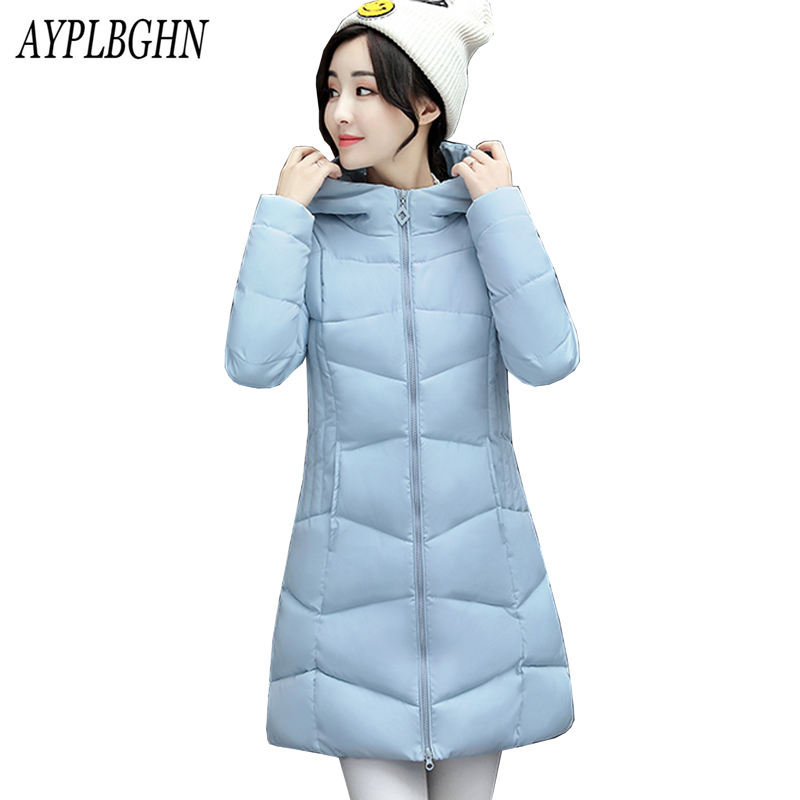 2017 Winter Jacket Women Winter Coat Hooded Parka Jaqueta Feminina Chaquetas Mujer Casacos De Inverno Feminino Plus Size 5L86