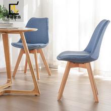Скандинавский современный креативный стул для столовой, домашний стул, красный обеденный стул, пластиковый дизайнерский стул, повседневный компьютерный стул