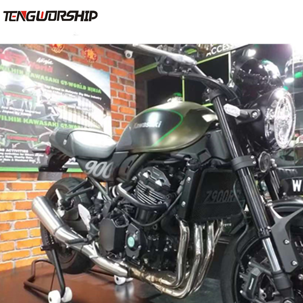 New Itme Motorbike Cafe racer For <font><b>Kawasaki</b></font> <font><b>Z900RS</b></font> 2017-2019 Front Engine Guard Protection Crash Bars Motorcyc 2 colors image