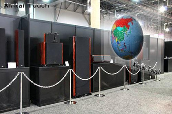 Free Shipping! 3d holographic film/transparent rear projection film(1.524m*2m ),transparent & ultra-easy install