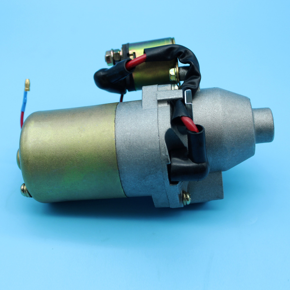 Starter Motor With Solenoid Fits For Honda 5.5HP & 6.5HP GX160 GX200 GX140 Replace 31210-ZE1-023 recoil pull start starter assembly fits honda gx120 gx160 gx200 new 28400 ze1 003zf 28400 zh8 013ya