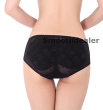 HOT 1pcs Lace Seamless Removable Padded Butt Hip Enhancer Shaper Panty Booster Underwear free shipping