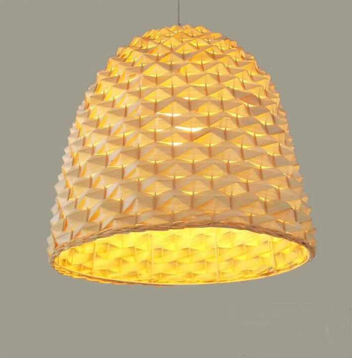 Pastoral modern Chinese rattan Art bamboo pendant lights creative restaurant living room lighting balcony tea factory lamps ZH a1 bedroom pendant lights lighting balcony restaurant rattan bar chinese retro pastoral bamboo rattan lamp