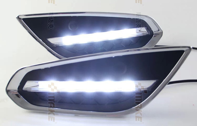 OsMrk DRL for volvo s60 V60 2009-13 led daytime running light fog lamp with auto off function top quality wholesale price пламенный мотор машинка инерционная volvo пожарная охрана