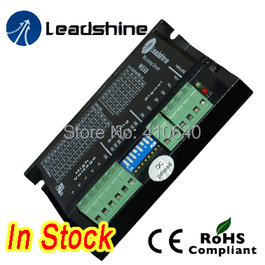 Leadshine M550 2 Phase Analog Stepper Drive Max 50 VDC 5.0A UL / CUL Certified 2pcs lot leadshine 2 phase high precision stepper drive am882
