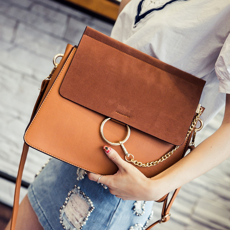 Matte Small Square Package Summer New Ring Pack Korean Version Of Messenger Bag Fashion Personality Casual