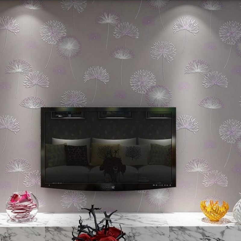 beibehang Warm pastoral 3D wallpaper for walls 3d papel de parede wall paper for living room bedroom TV sofa background flooring beibehang papel de parede wall paper warm living room bedroom full shop wallpaper nonwoven coining stereoscopic 3d pastoral wall