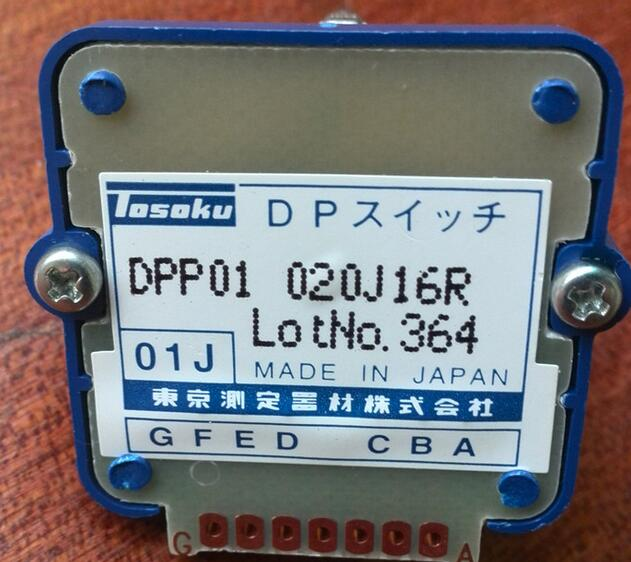 Rotary switches band switch TOSOKU    Magnification Switch Machine Band  021J16R  DPP01   01j CNC panel knob switch